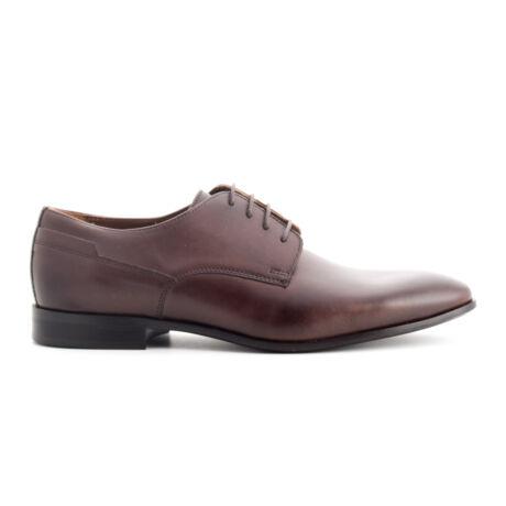 Simonetti bőr fűzős alkalmi férfi cipő világosbarna  169971_A
