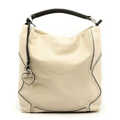 New Lookat női műbőr táska beige 1.0 174180_A