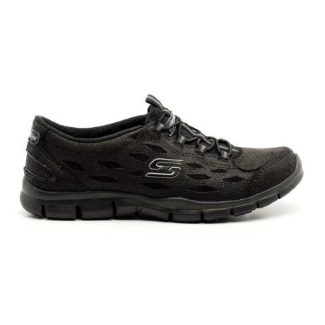 Skechers sportos félcipő fekete  177058_A