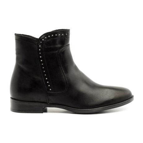 Rizzoli bőr bokacsizma fekete  177354_A