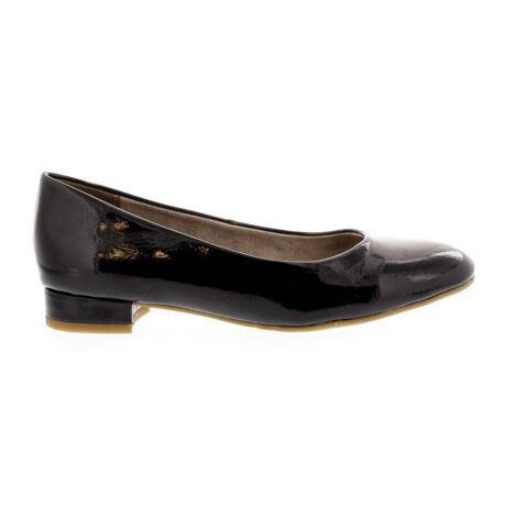 Tamaris pumps black patent 018 fekete  177970_A