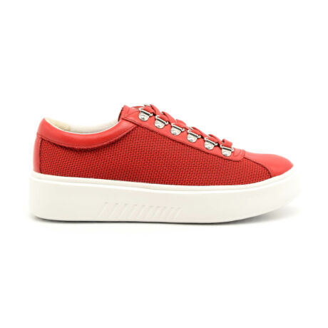 Geox női félcipő red C7000 piros 35.0 178576_A