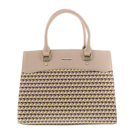 David Jones női műbőr táska light grey világos szürke  179261_A