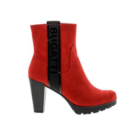 Bugatti női boka red-blck3010 piros  180491_A