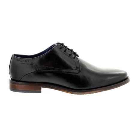 Bugatti férfi félcipő black 1000  fekete  180502_A