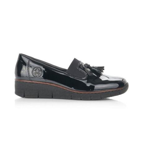Rieker női félcipő schwarz00 fekete  181461_A