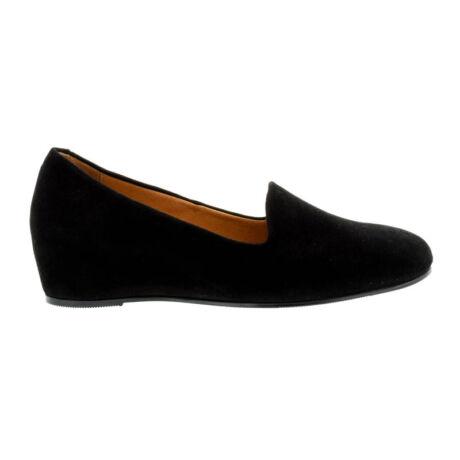 MF Adasay velúr félcipő fekete  fekete  181689_A