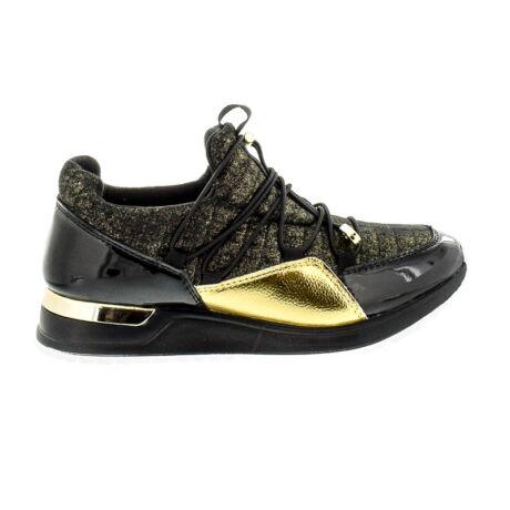 Menbur sneaker black gold 0010 fekete  182552_A
