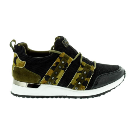 Menbur sneaker camuflage 0079 fekete  182559_A