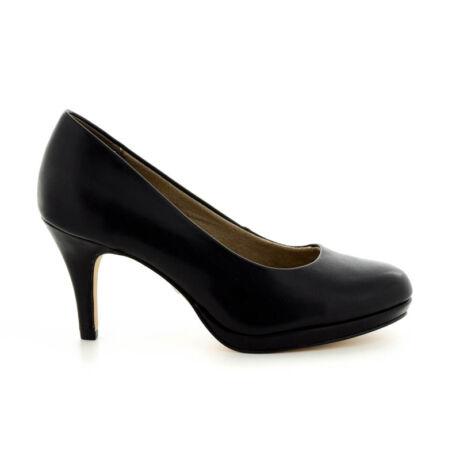 Tamaris pumps black matt020 fekete  183647_A
