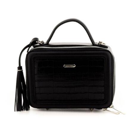 David Jones női műbőr táska black fekete  184775_A