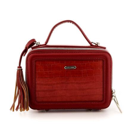 David Jones női műbőr táska red piros  184779_A