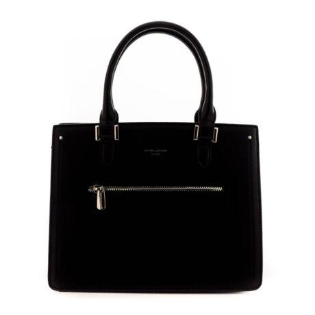David Jones női műbőr táska black fekete  184806_A