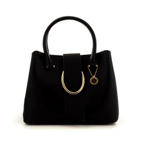Diana női műbőr táska black fekete  184935_A