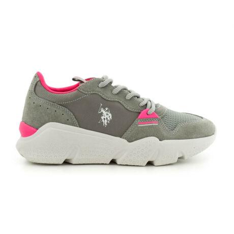 U.S.Polo sneaker grey suede szürke  185172_A