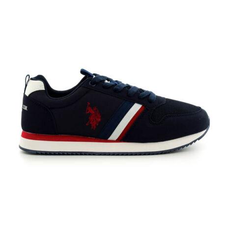 U.S.Polo fűzős sneaker dark blue  kék  185178_A