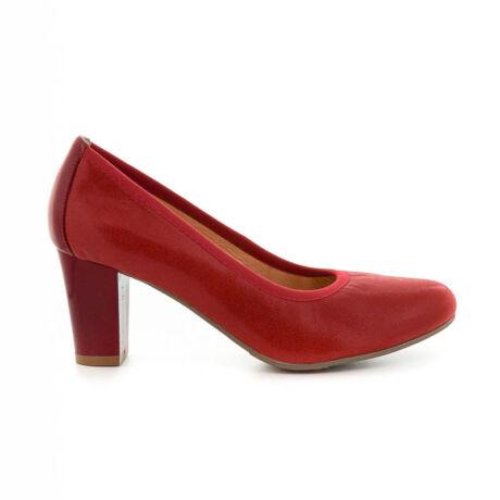 Bioeco bőr pumps 1796+0433 piros piros  185226_A