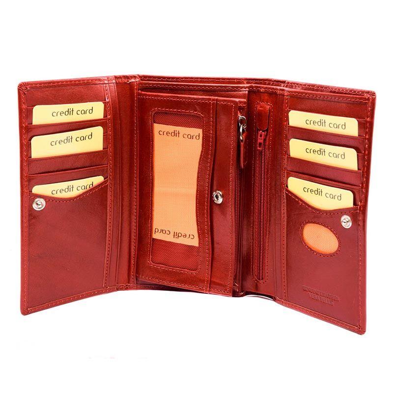 Centro Pelle bőr pénztárca/rosso 157073_B.jpg