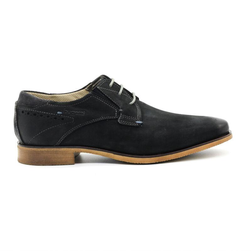 Bugatti félcipő fekete  168649_A