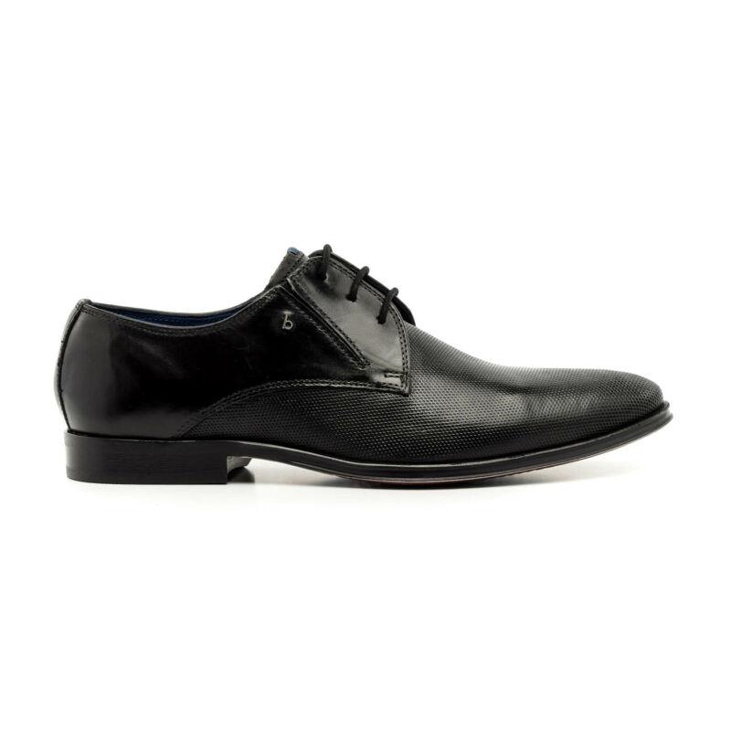 Bugatti félcipő fekete  173750_A