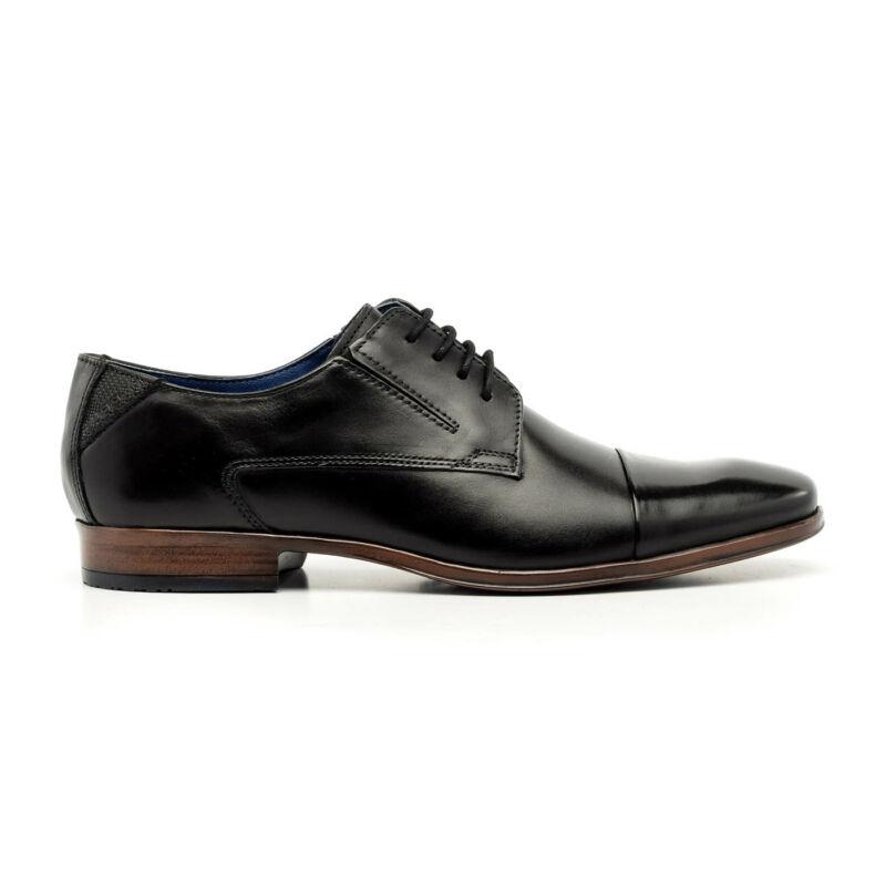 Bugatti félcipő fekete  173751_A