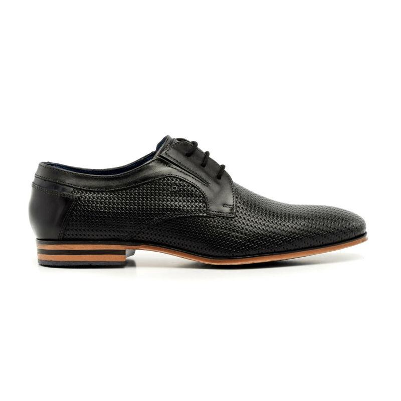 Bugatti félcipő fekete  173792_A