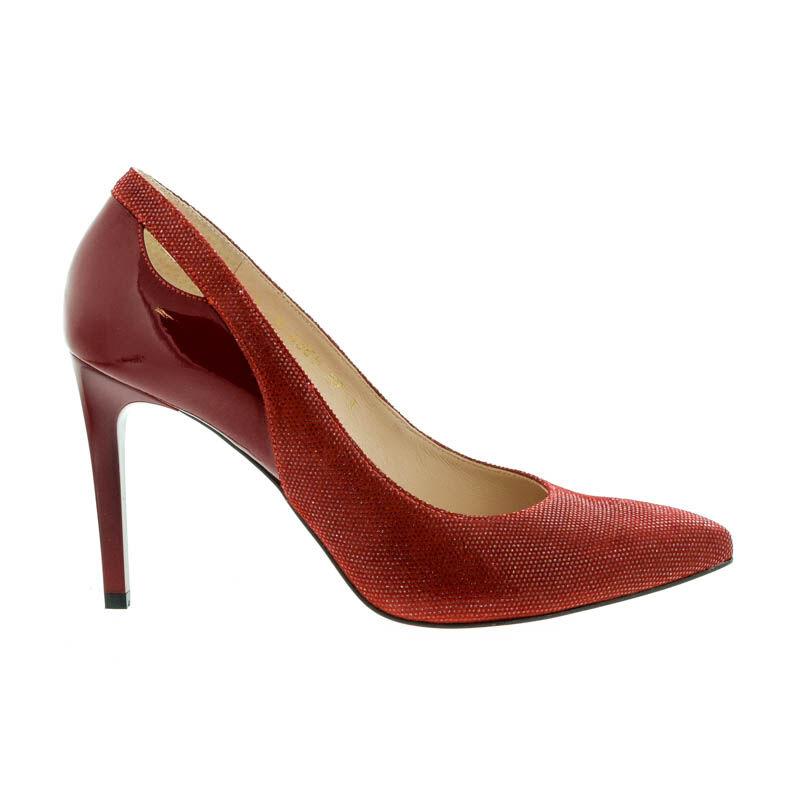 Anis pumps puntino czerwony  piros  175218_A