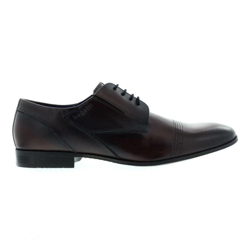 Bugatti férfi félcipő dark brown6100 sötétbarna  176069_A