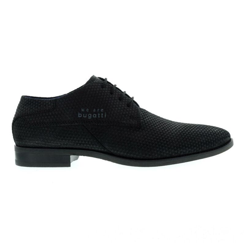 Bugatti férfi félcipő black1000 fekete  176070_A