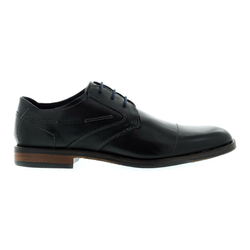 Bugatti férfi félcipő black1000 fekete  176076_A