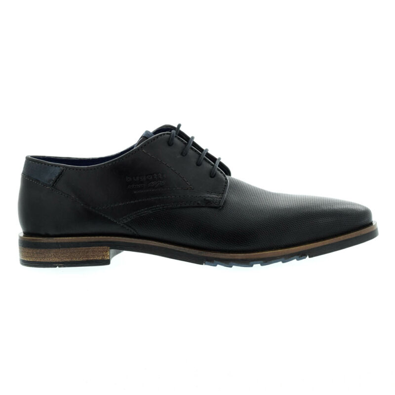Bugatti férfi félcipő black1000 fekete  176079_A