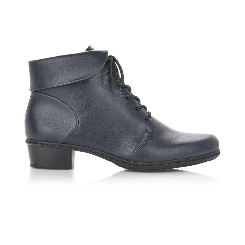 Rieker női bokacipő kék  176649_A