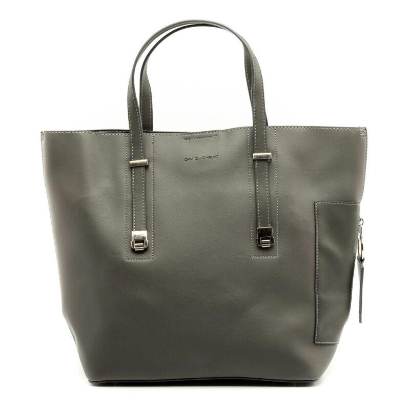 David Jones női műbőr táska szürke  176870_A