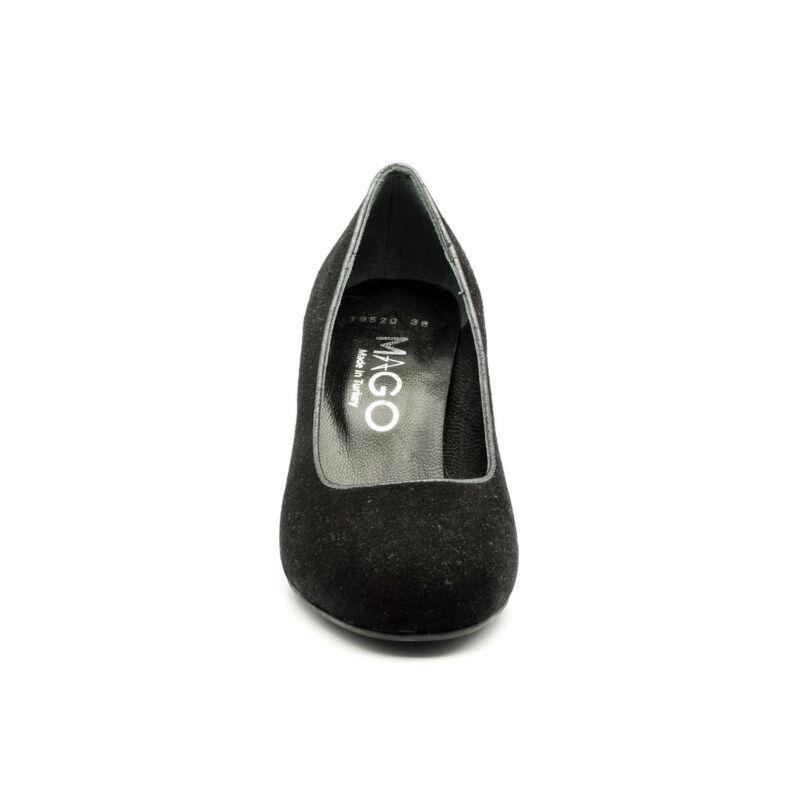 Mago bőr pumps black suede  177441_C.jpg