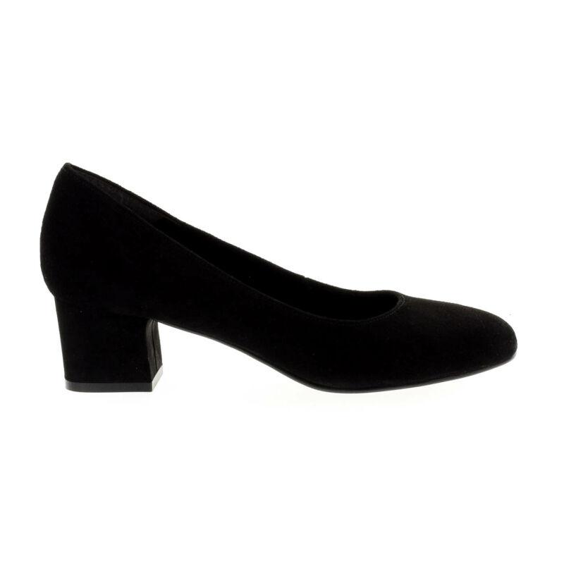 Tamaris pumps black001 fekete  177892_A