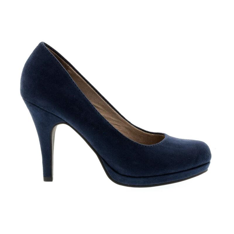 Tamaris pumps navy805 kék  177905_A