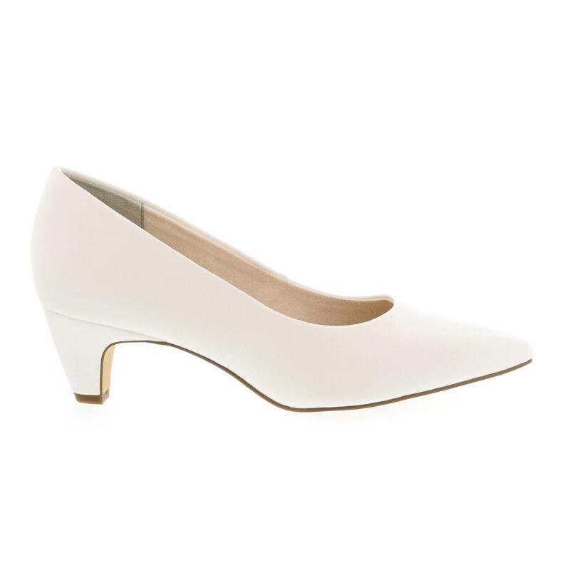Tamaris pumps white matt108 fehér  177922_A