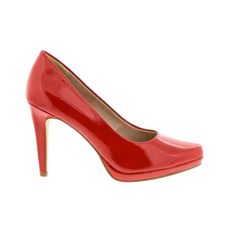 Tamaris pumps chili patent520 piros  177935_A