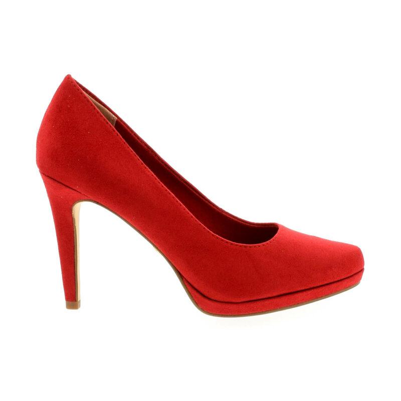 Tamaris pumps lipstick515 piros  177939_A