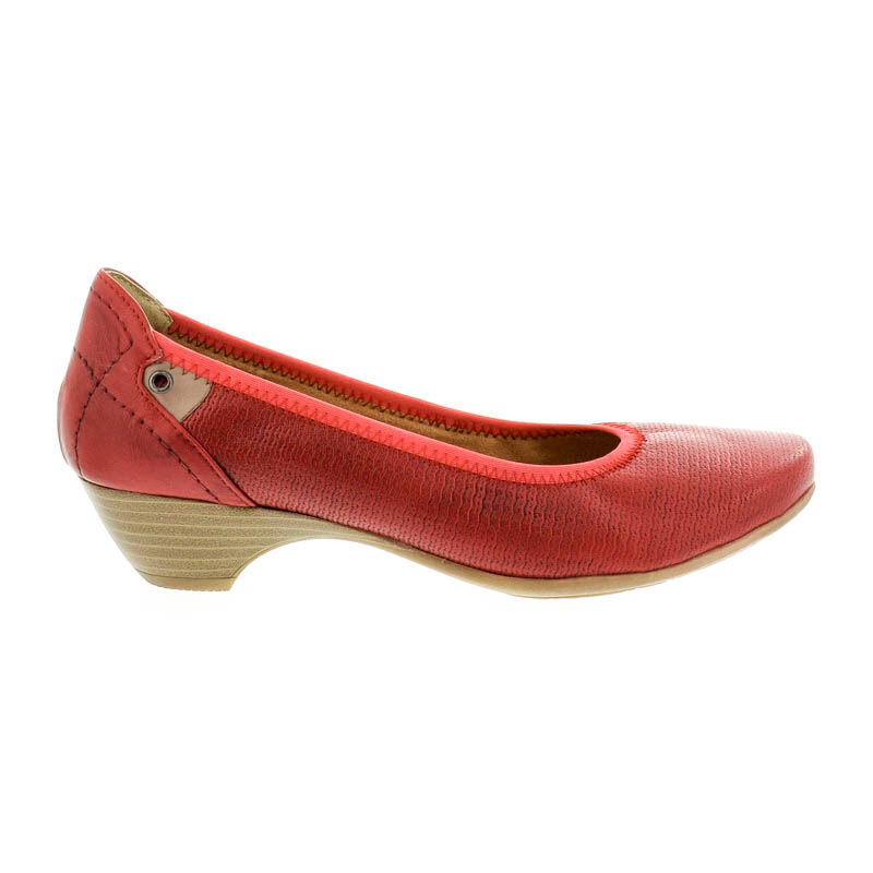 Jana pumps chili533 piros  178622_A