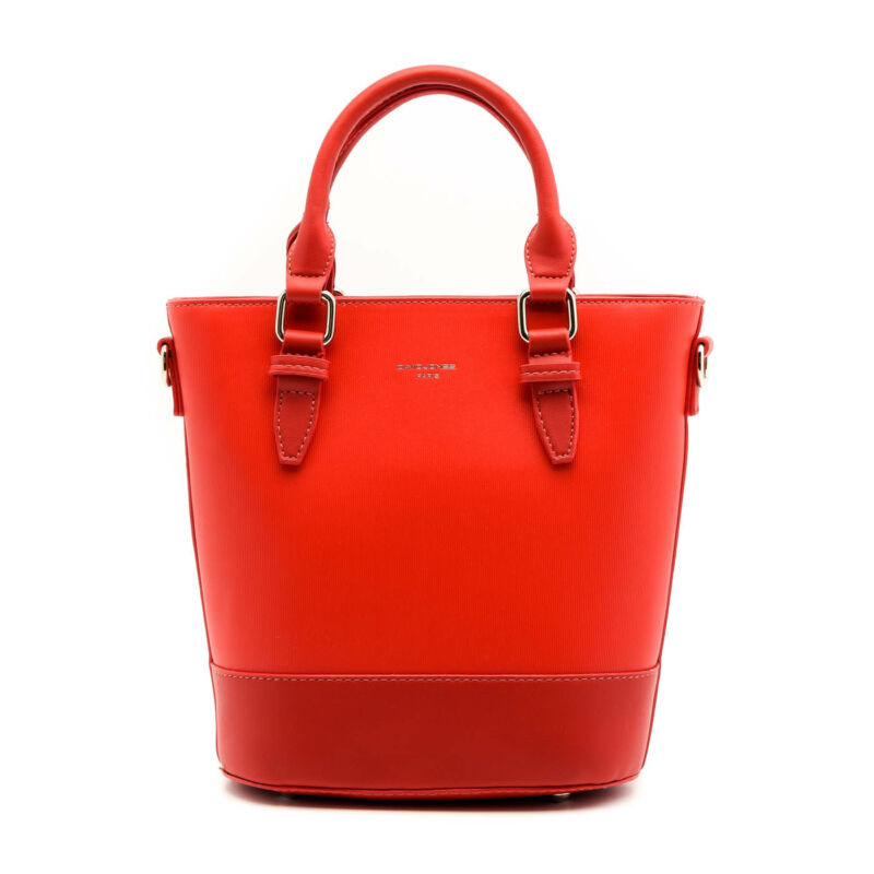 David Jones női műbőr táska red piros  178855_A