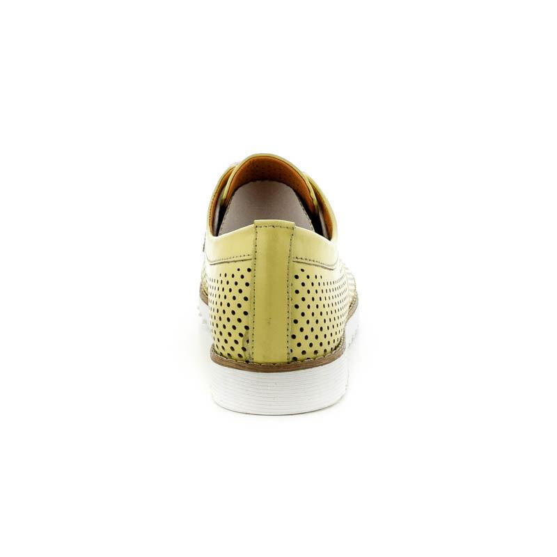 La Pinta bőr fűzős félcipő 36 yellow179129_D.jpg
