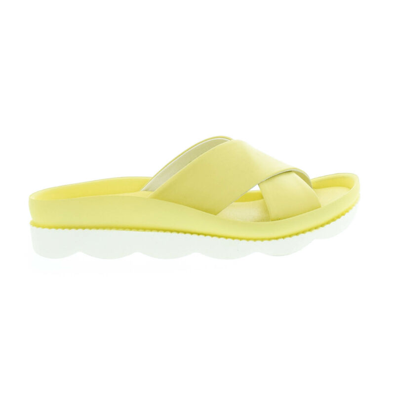 La Pinta bőr papucs 711 yellow bright  sárga  179135_A