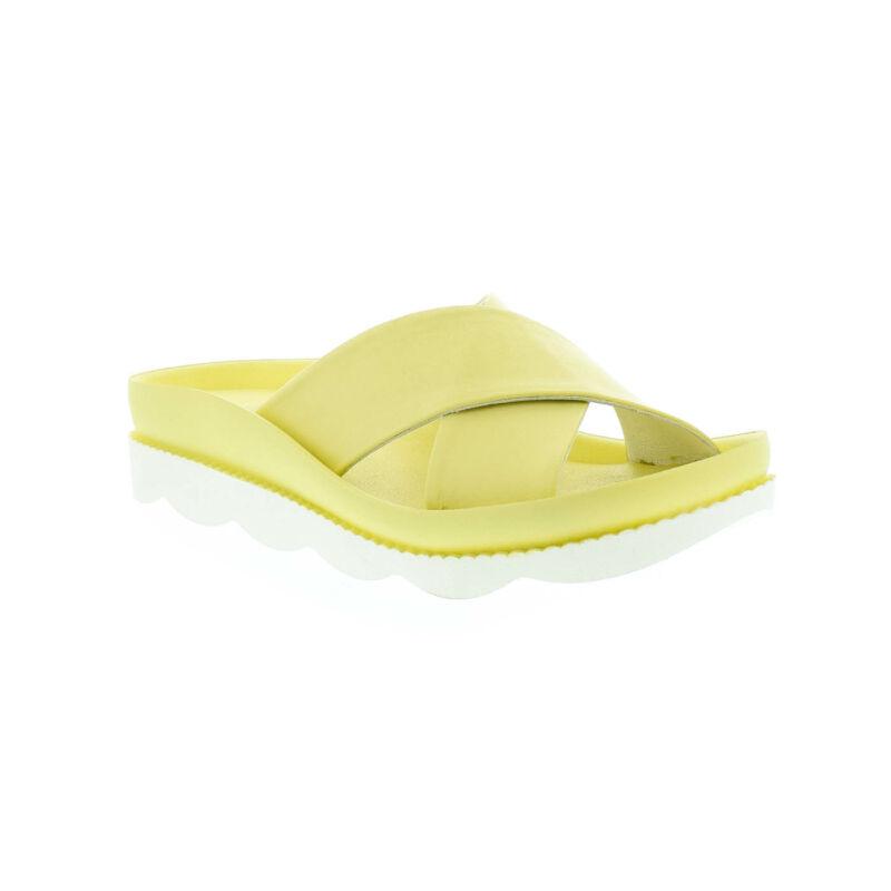 La Pinta bőr papucs 711 yellow bright  179135_B.jpg