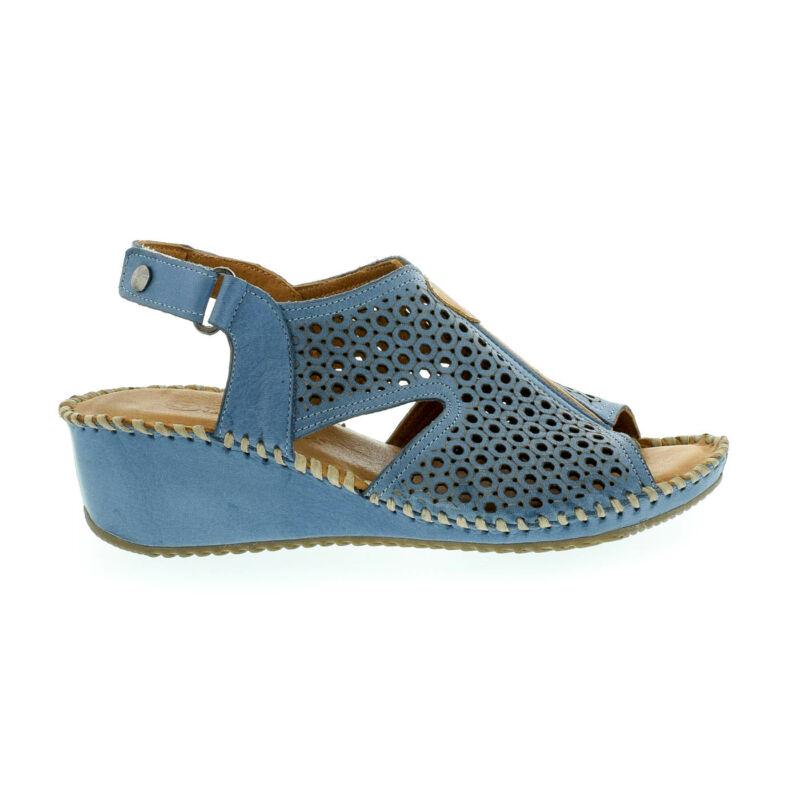 La Pinta bőr szandál 13 denim leather kék  179142_A
