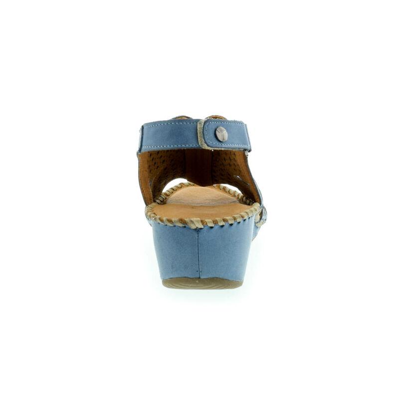 La Pinta bőr szandál 13 denim leather179142_D.jpg