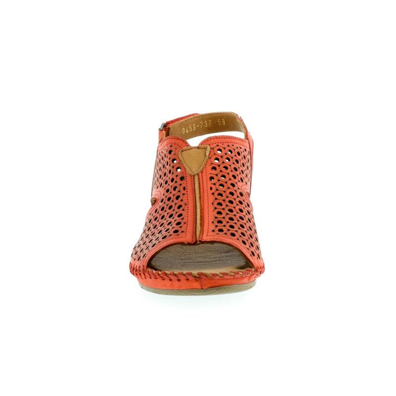 La Pinta bőr szandál 59 red leather 179144_C.jpg