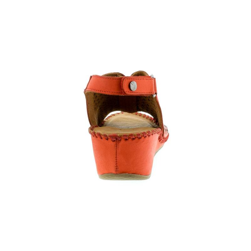 La Pinta bőr szandál 59 red leather179144_D.jpg