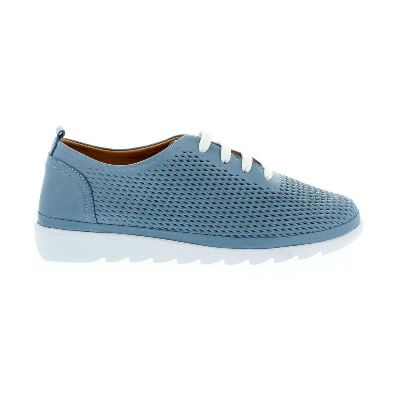 La Pinta bőr félcipő blue satin leather kék  179158_A