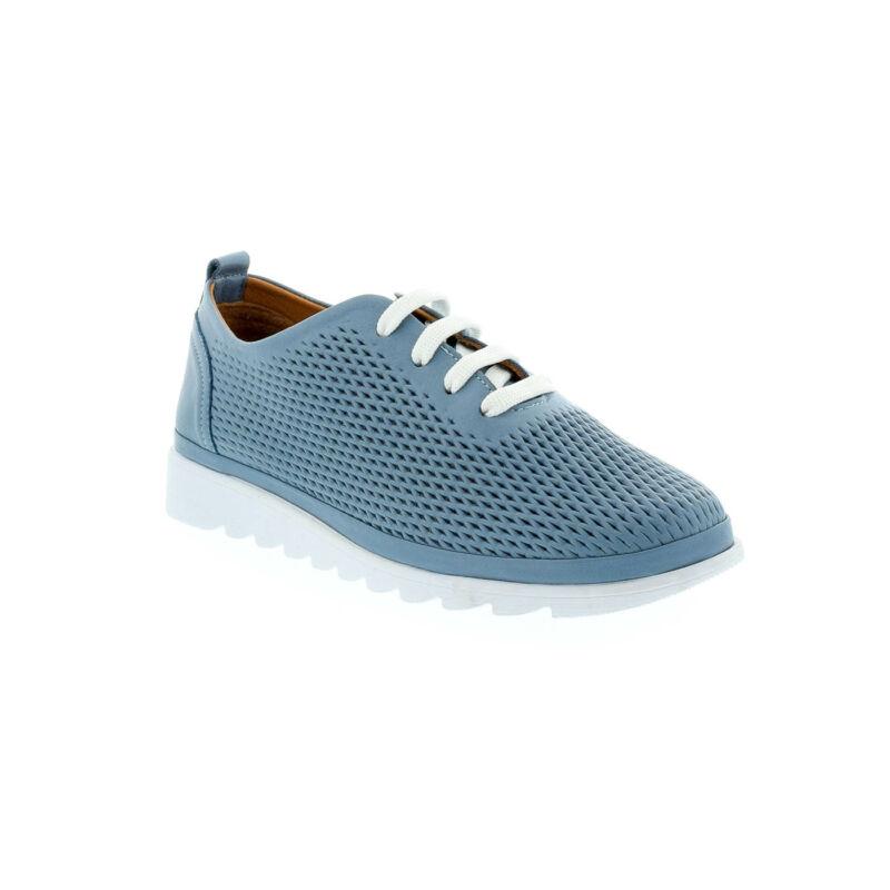 La Pinta bőr félcipő blue satin leather 179158_B.jpg